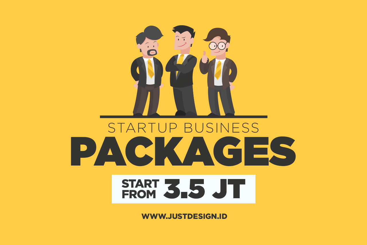 Promo Startup Business Package! Start from 3,5 Juta Rupiah!